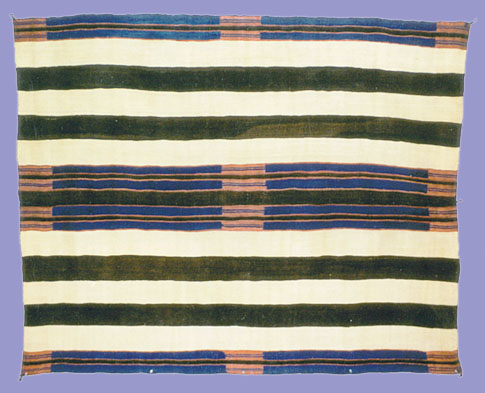 Classic period Navajo Second Phase Chief's Blanket, circa 1860